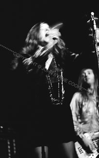 Janis Joplin and Sam Andrew, Big Brother and the Holding Company performance, Houston, Texas, November 23, 1968