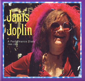cover illustration for Janis Joplin: A Performance Diary